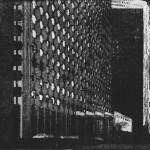 Mehdi Zannad, Gravure, La Défense, 2011 - Eau-forte et aquatinte, 15.1 x 20 cm
