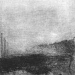 Mehdi Zannad, Brouillard, 2010 - Aquatinte, 14 x 14 cm