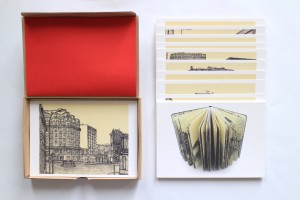 41 cartes postales : l'intégralité du carnet monographique original