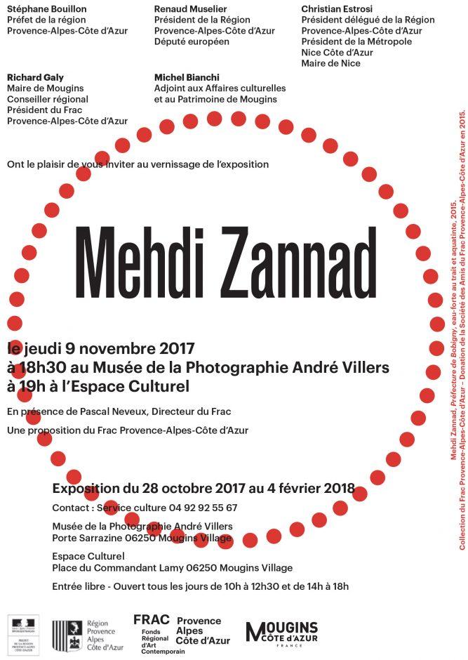 Mehdi Zannad FRAC expo Mougins