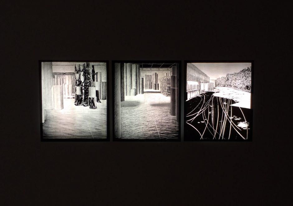 Vedute gravure exposition Mehdi Zannad Marseille